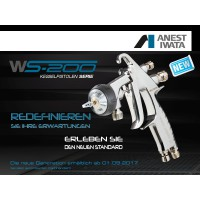 ANEST IWATA WS-200SP / WS-200FT